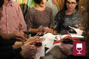 Cata de vinos en inglés de 4 Real English en Pamplona