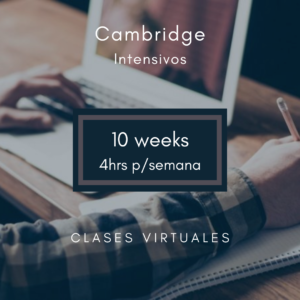 inglés Cambridge intensivo