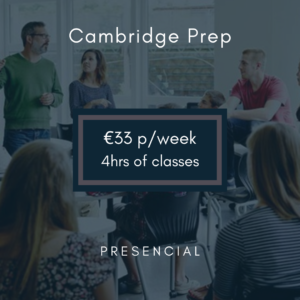 cursos preparación Cambridge