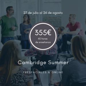 Curso intensivo Cambridge de verano enPamplona - 4 Real English