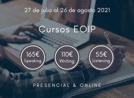 cursos inglés de verano de la EOIP en Pamplona